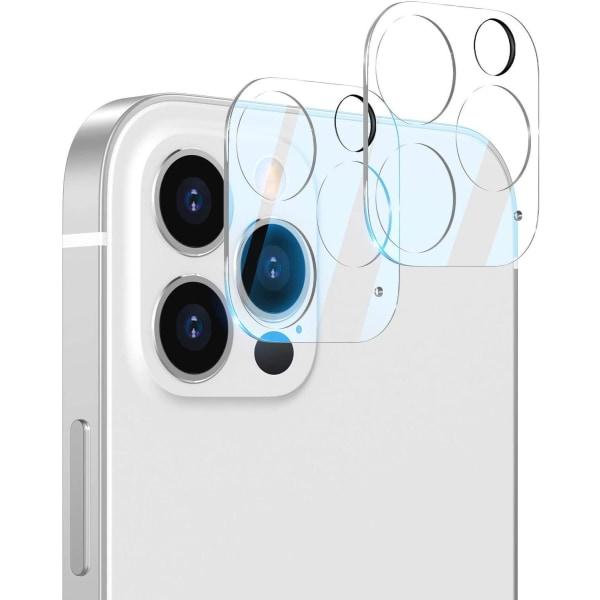 C4U® 2-Pack linsskydd för iPhone 12 Pro  Kamera i härdat glas  Transparent iPhone 12 Pro (6.1)