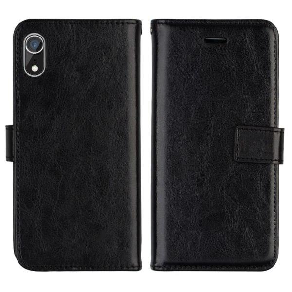 C4U® iPhone XS MAX  Plånboksfodral / Magnetskal Plånbok - Svart  Black