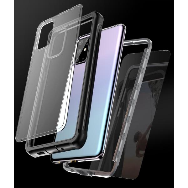 C4U® Shockproof Defence - Galaxy S20+  - Stötdämpande skal 3i1 Svart