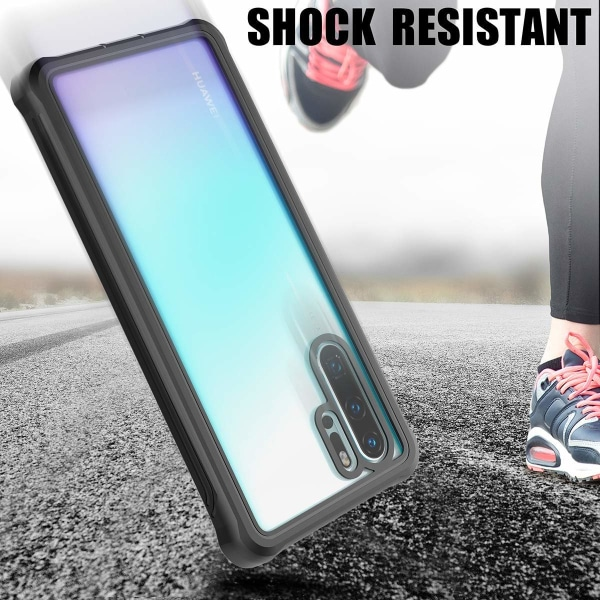 C4U® Shockproof Defence - Huawei P30 Pro - Stötdämpande skal 3i1 P30pro