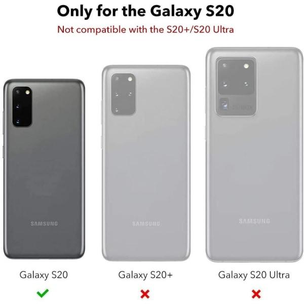 C4U® TPU för Galaxy S20 Protection - Slimmat skal