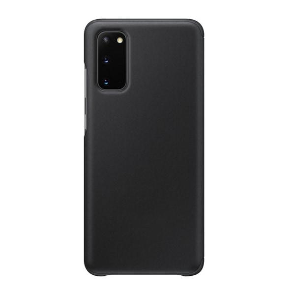 Flip skal fodral till Samsung Galaxy S20+ window view app Black
