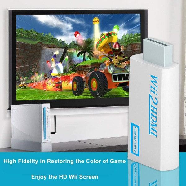 För Nintendo Wii till HDMI Adapter   Full HD 1080P