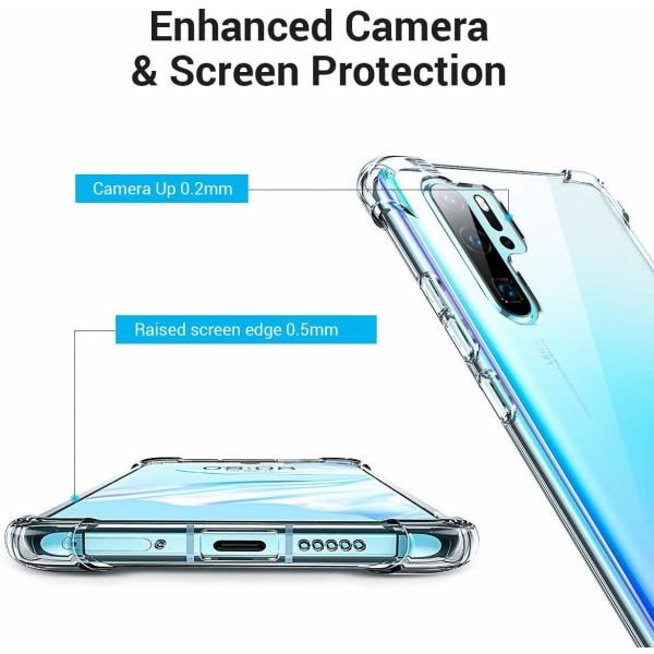 Huawei P30 Pro ShockClear - Slimmat genomskinligt skal C4U®