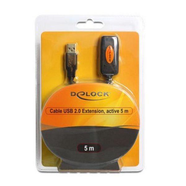 Förlängningssladd DELOCK 82308 USB 2.0 5 m