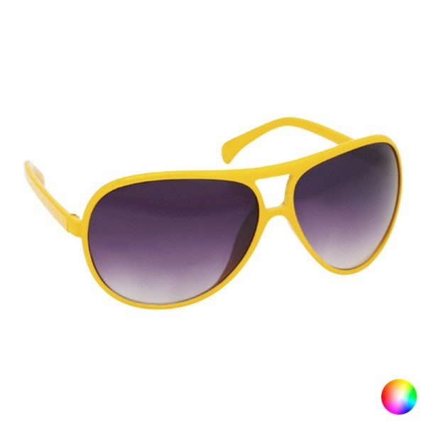 Unisexsolglasögon 143950 Gul