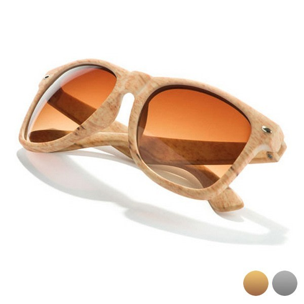 Unisexsolglasögon 144748 Ljusbrun