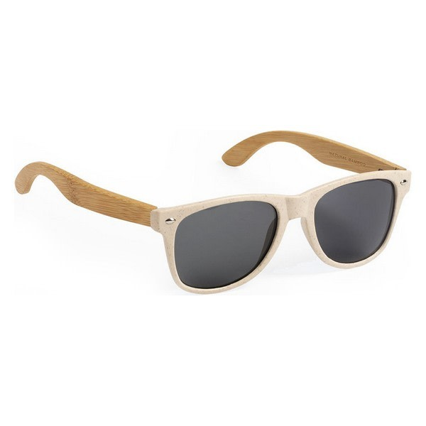 Unisexsolglasögon 146355 Naturlig