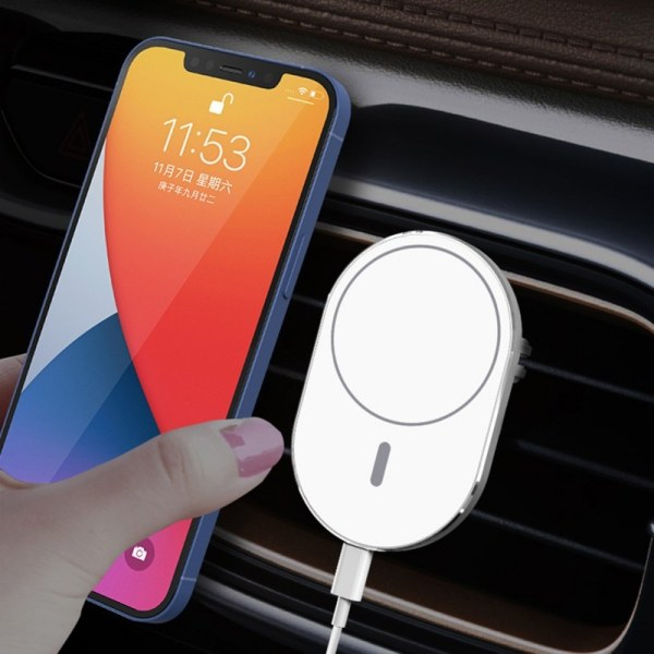 15W durable Wireless Car Magnetic Charger Airvent Mount S