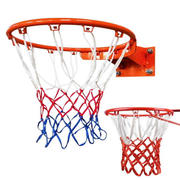 Durable Nylon Thread Sports Basketball Hoop Mesh Net B