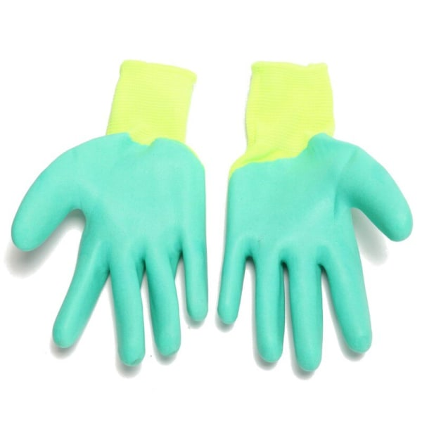 Hamster Anti Bite Gloves Small Animals Anti-Scratch Gloves Light Green