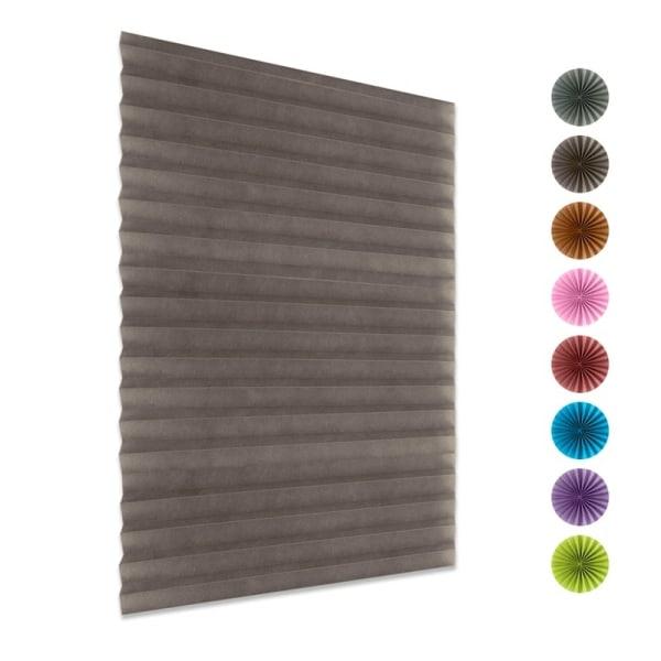 Window Valance Room Darkening Curtain installed By Adhesive Tape P 60x150CM