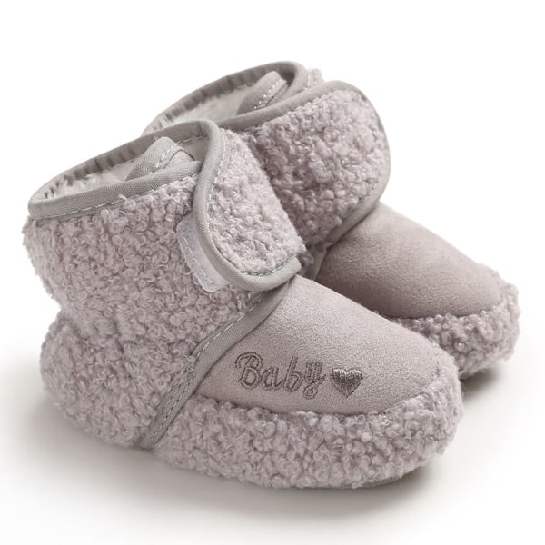 Winter Baby Boots Toddler Girls Shoes Plus Faux Fur Booties A1 7-12 Months