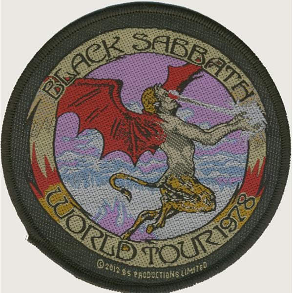 Black Sabbath Tygmärke