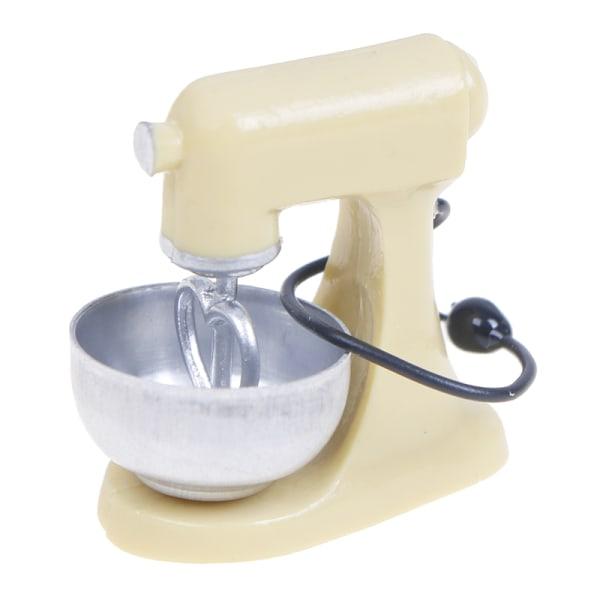 1:12 Dollhouse Miniature Kitchen Modern Mixer Model Möbler A