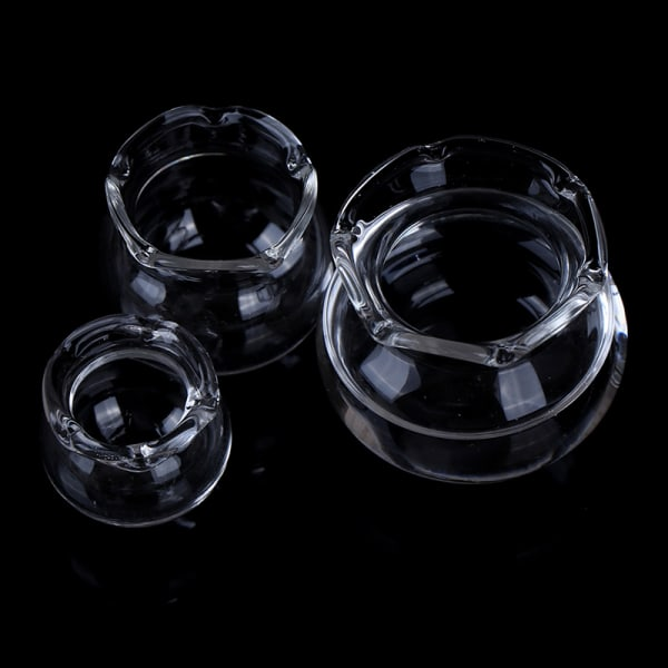 1:12 Dollhouse Miniature Transparent Glass Fish Tank för Dollho