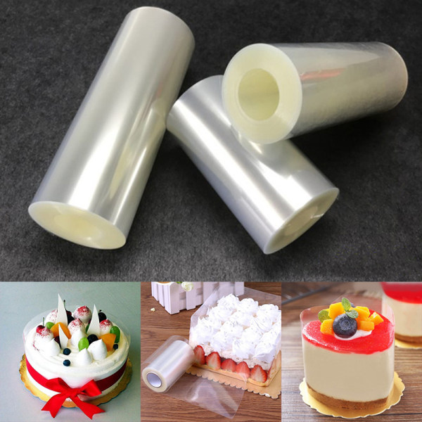 1 Rulle Transparent Cake Collar Mousse Omgivning Edge Kitchen
