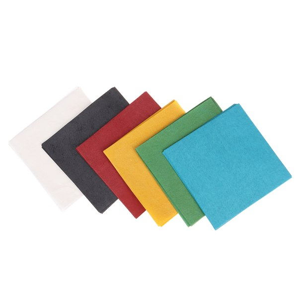 10st / set 10 * 10cm Magic Firepaper Magic Tricks Stage Street Mag
