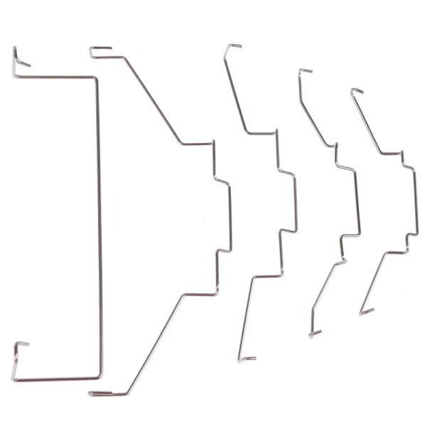 1 par CPU-radiatorfläktkrok fast fäste fläkt spänne elastisk St.