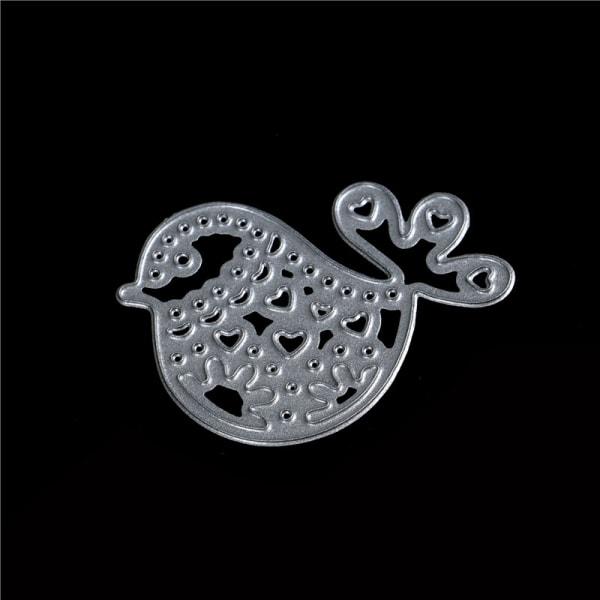 1pc bird metal cutting dies stencil scrapbook album paper embos onesize