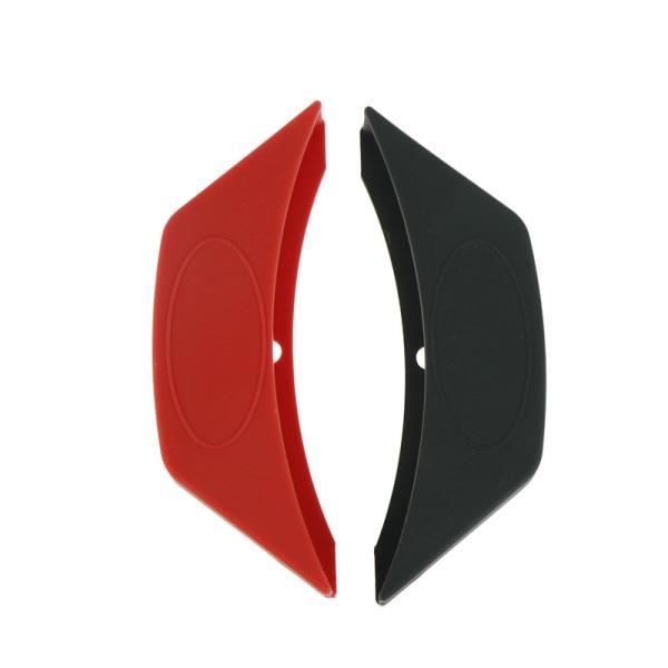 1pc Silikon Assist Handtag Hållare Pot Cover Värmeisolerad Fing