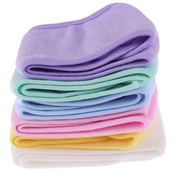 1X bubbelbad dusch smink tvätta ansikte kosmetiska huvudband hårförbud