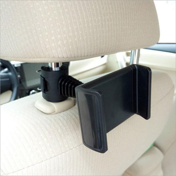 360 Ratating bil baksätet nackstöd telefonhållare för phon
