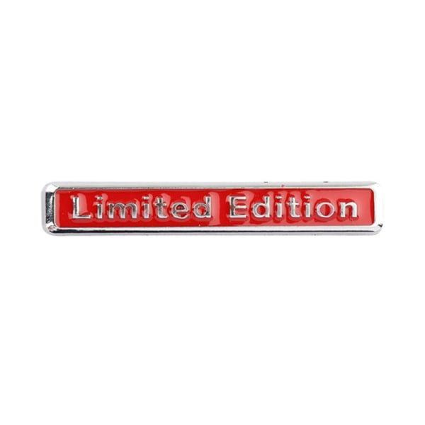 3D Metal Chrome Limited Edition Auto Car Sticker Badge Decal Mo
