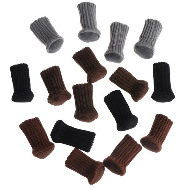 4st Stol Ben Sockduk Golv Anti-halk Bordsmöbler