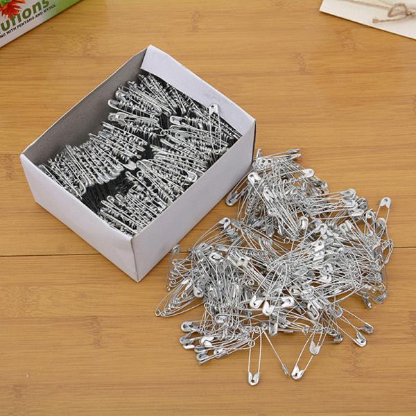 500X säkerhetsnålar Silverfärgad 35 mm mässingssöm Craft Mi