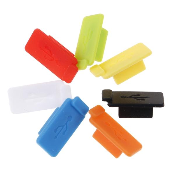 5st Universal USB-dammkontaktport laddare täckgränssnitt