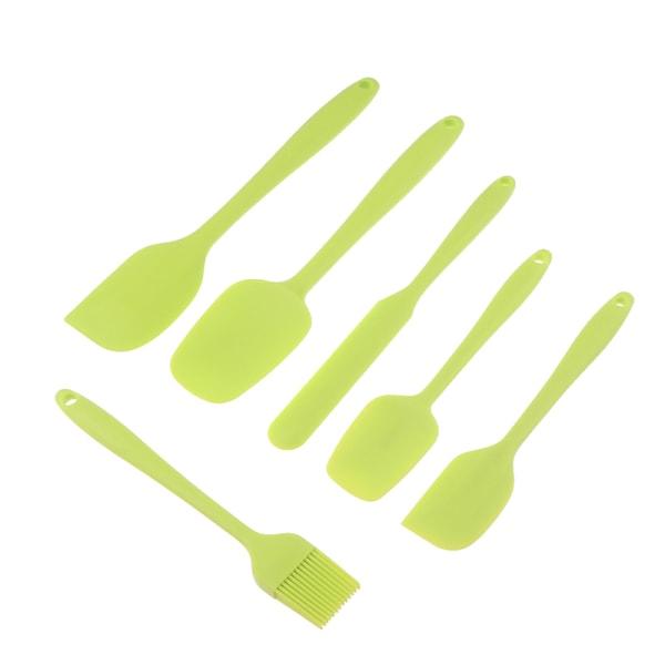 6PCs / Set Baking Scraper Tool Brush Set Silikon köksredskap Cre