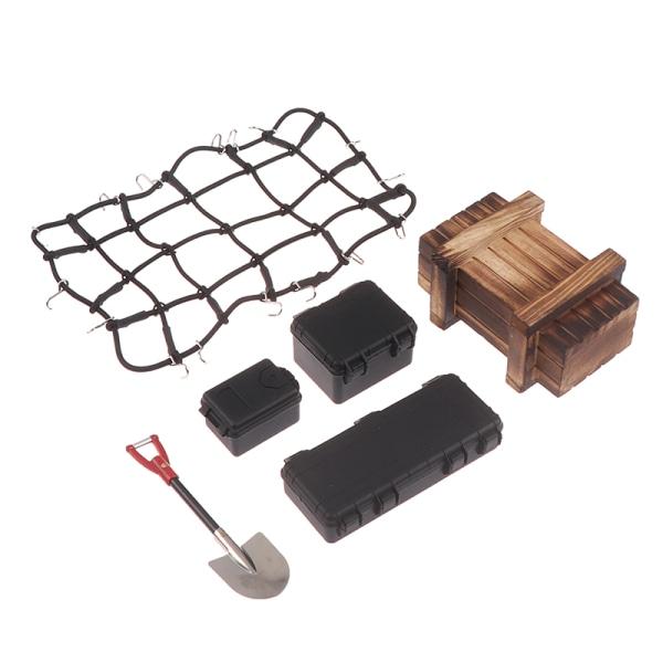 6PCS / Set Simulerad Dekoration Resväska Bagage Net Spade för S