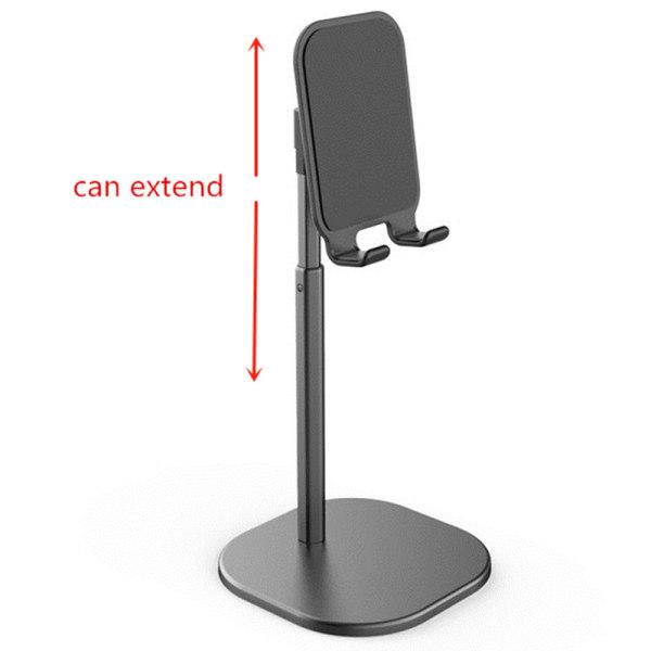 Justerbar hållare för mobiltelefon Skrivbordstativ M