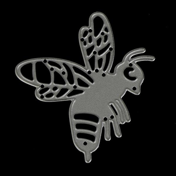 Bee Metal Cutting Dies Stencil Scrapbooking Card Paper Embossin