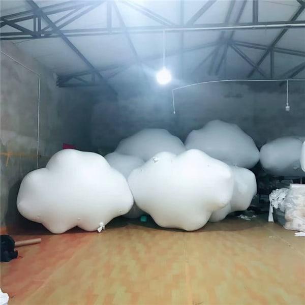 Födelsedag Ballonger vita moln Folie Ballonger Baby Shower Birthd