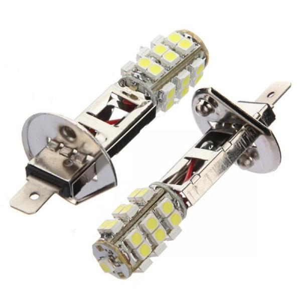 Ljusvit H1 HID 25 SMD 3528 LED-dimljus för bilfordon