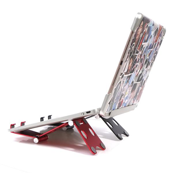 Skrivbord Mobiltelefonstativ Aluminiumhållare Fällbar Mini Mount Fo