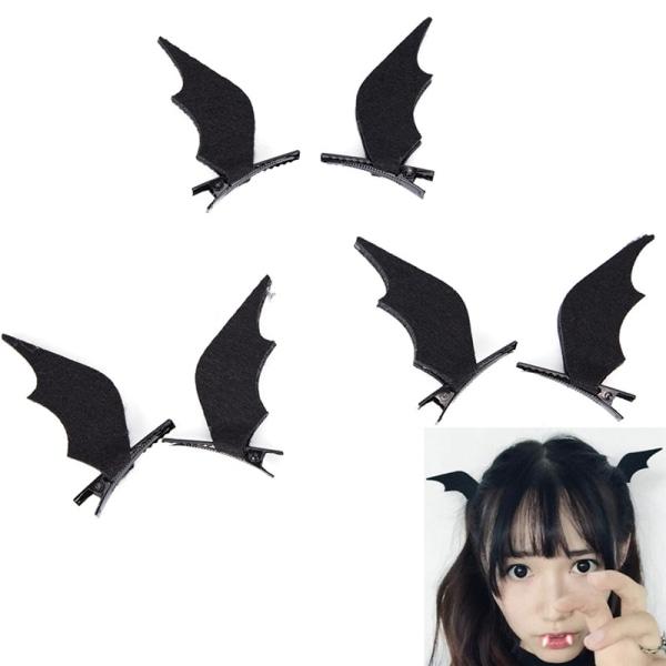 Devil Wings Bat Wings Hair Clip Cosplay Halloween Dress-up Cost
