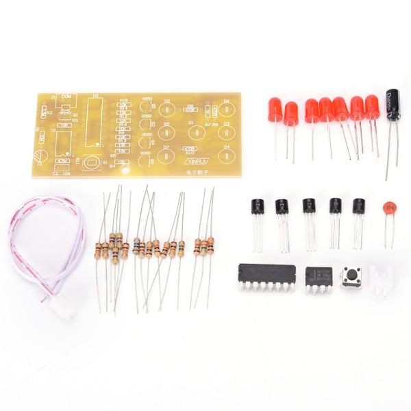 DIY elektroniska tärningssatser Suite LED-kretssatser Stabila 4,5-5V R