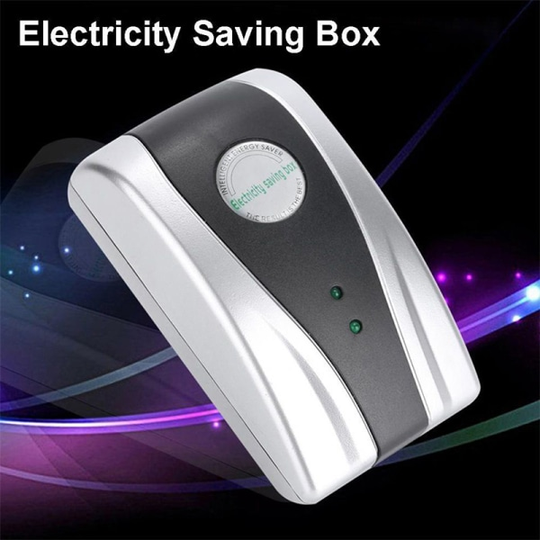 EcoWatt365 -NY Ström Energibesparande låda UK / US / EU-kontakt