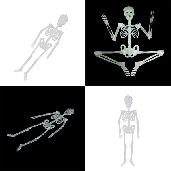 Hot Luminous Human Skeleton Hanging Decoration Halloween Party