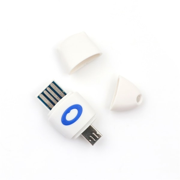 Micro USB 2.0 OTG Adapter TF Card Reader For PC Computer Phone One Size