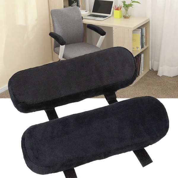 New Slow Rebound Memory Foam Armrest Cushion Pad Chair Mat Elbo