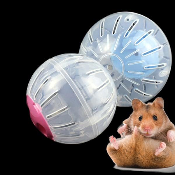 Pet Running Ball Plastic Grounder Jogging Hamster Pet Small Exe Pink