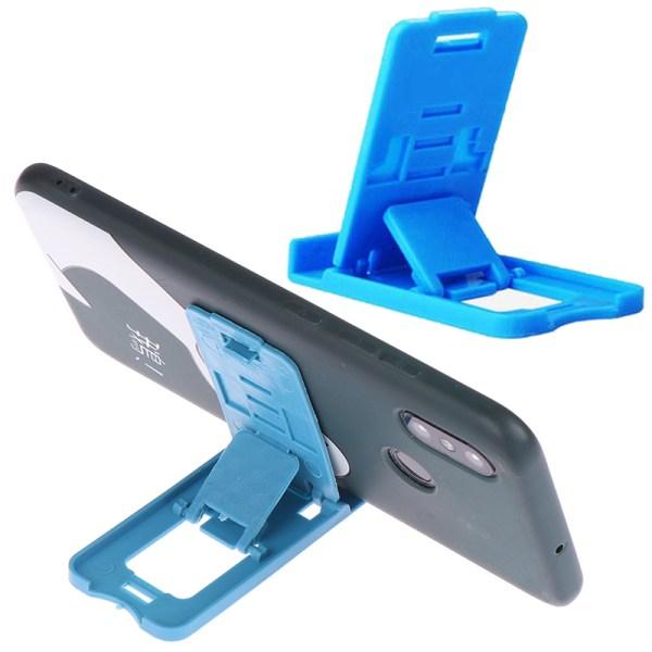 Telefonhållare Skrivbordstativ för de flesta hopfällbara mobiltelefoner i plast