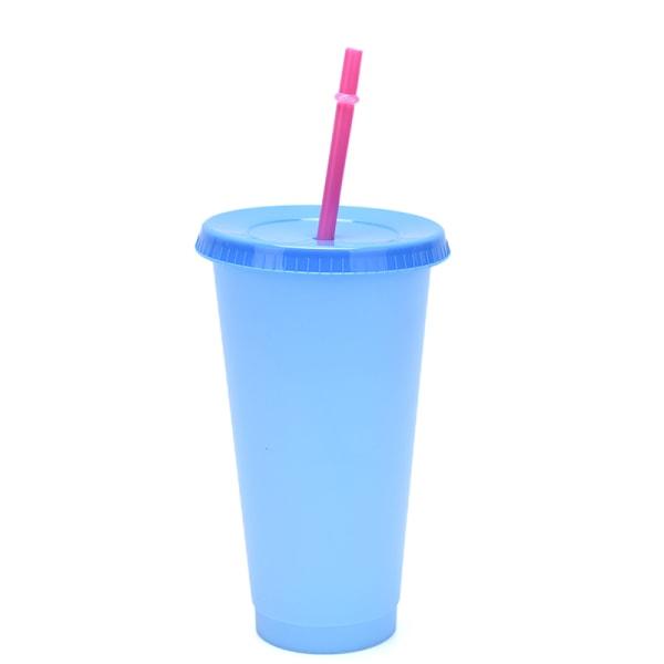 Plasttemperaturbyte Färgbyte Mugg Vattenflaskor