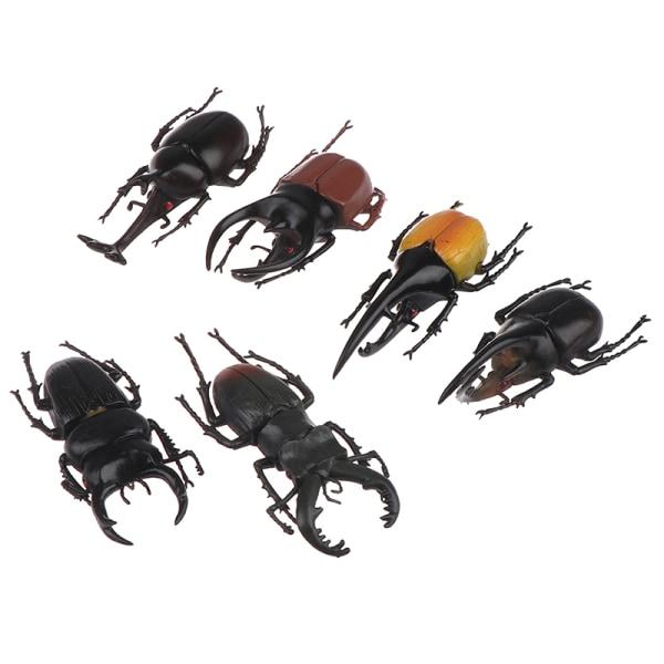 Simulering skalbagge leksaker speciell verklighetstrogna modell insekt leksak teachi