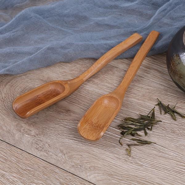 Tradition bambusked kaffe te sked trä skopa matsal redskap