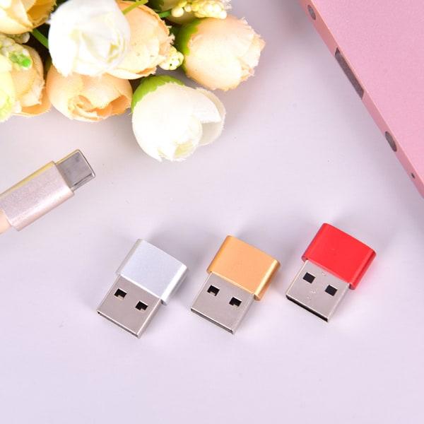USB C 3.0 typ C hona till USB 3.0 typ A hanportladdare konv